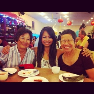 2012 Easter Yum Cha with the mammas.  I think the novelty of Yum Cha is fun - some of the food scared me and it was like a food adventure :)