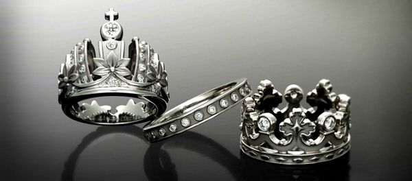 king and queen crown wedding rings king and wedding rings wedding our ideas 5313