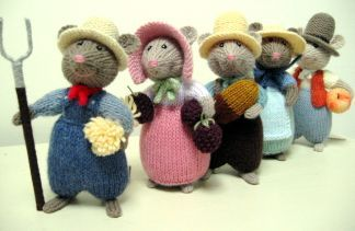 Alan Dart 'Harvest Mice'.....what neat designs...