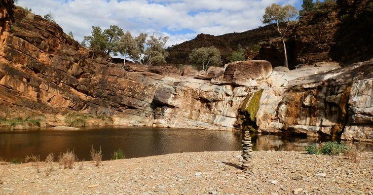 #Blinman Pools Walk, via #Angorichina! MORE: http://www.redzaustralia.com/2015/07/5-angorichina-adventures-northern-flinders-ranges/