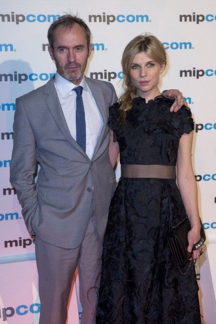 Stephen Dillane and Clémence Poésy - The Tunnel (7.October.2013)