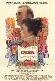 Cuba (1979) Shaun Connery, Brooke Adams, Martin Balsaam