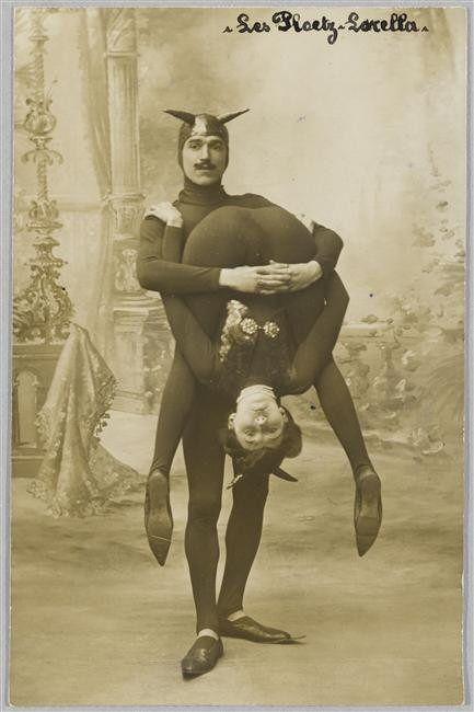 Vintage Circus Folk ~