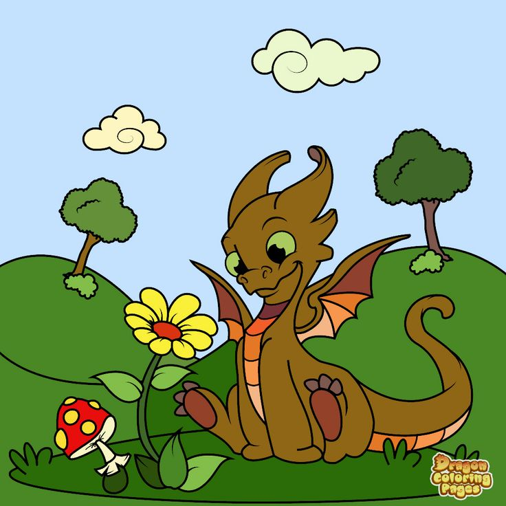 Dragon Coloring Book Pages For Kids On The App Store