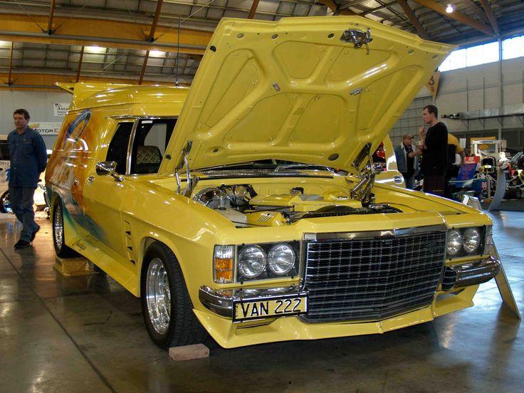 1975 Holden Sandman Van