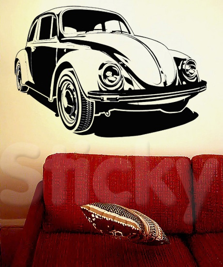 Wall Sticker BEETLE by Sticky!!!