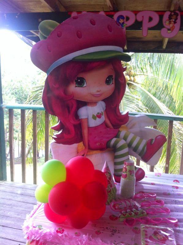 Strawberry Shortcake Party Decoration