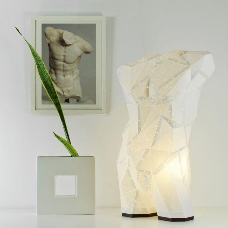 Mail Torso Light - STUDIO POP OBJECT