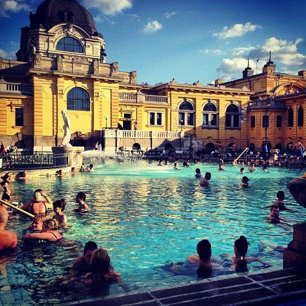 Széchenyi Thermal Bath in Budapest