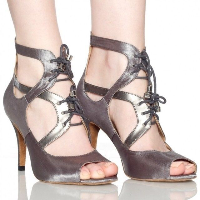 New Modern Dancing Shoes Latin Dance Shoes Ballroom Salsa Dance Shoes Size 4-10 #YeahDance #OpenToe