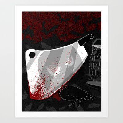 Black & White Art Print by MikiMikibo - $15.00