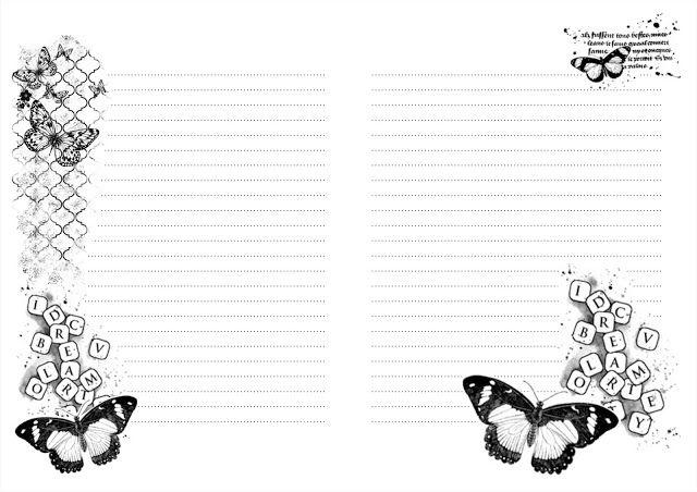 """странички для блокнота от блога """"Завтрак с прицесой"""". Обсуждение на LiveInternet - Российский Сервис Онлайн-Дневников"""