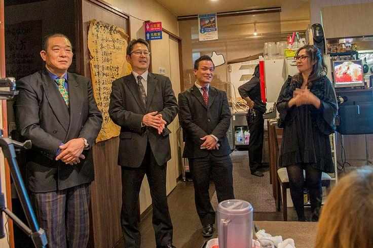 講師4人集合写真 http://kumahachi.me/