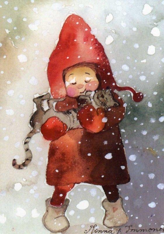 прикольные картинки про зиму на аву шварценеггера