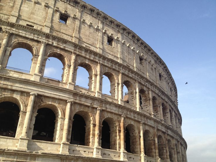 Although partially ruined because of damages by earthquakes and stone-robbers, Colosseum is still the iconic symbol of Imperial Rome and also has a link to the Roman Catholic church.