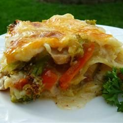 Turkey Lasagna   dinner recipe - use leftover turkey - try cottage cheese (in blender) instead of roux #healthy #dinner #recipes