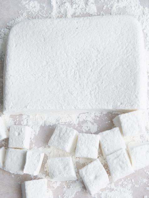 Vanille-Marshmallow-Würfel Rezept - [ESSEN UND TRINKEN]