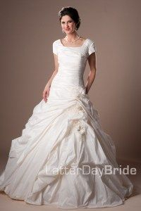 Gorgeous wedding dress from latter day bride