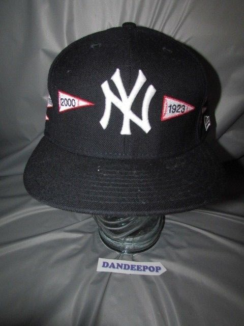 New York NY Yankees Pennant Baseball Hat Cap A Spike Lee Joint 59Fifty 7  1 2  NewYorkYankees  yankees  hat  baseball  pennanthat  logo   aspikeleejoint ... d727746fa7f