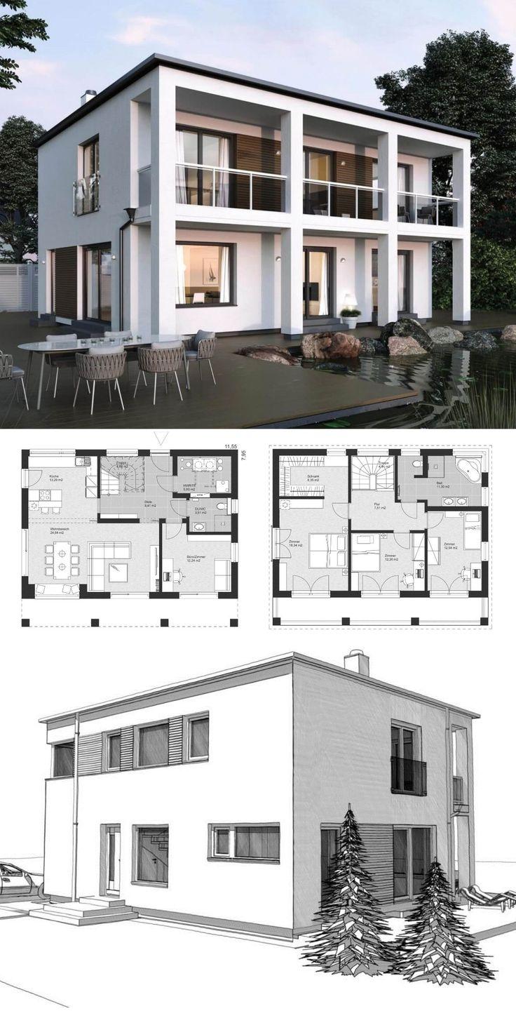 Villa Modern Minimalist Style Architecture Design …