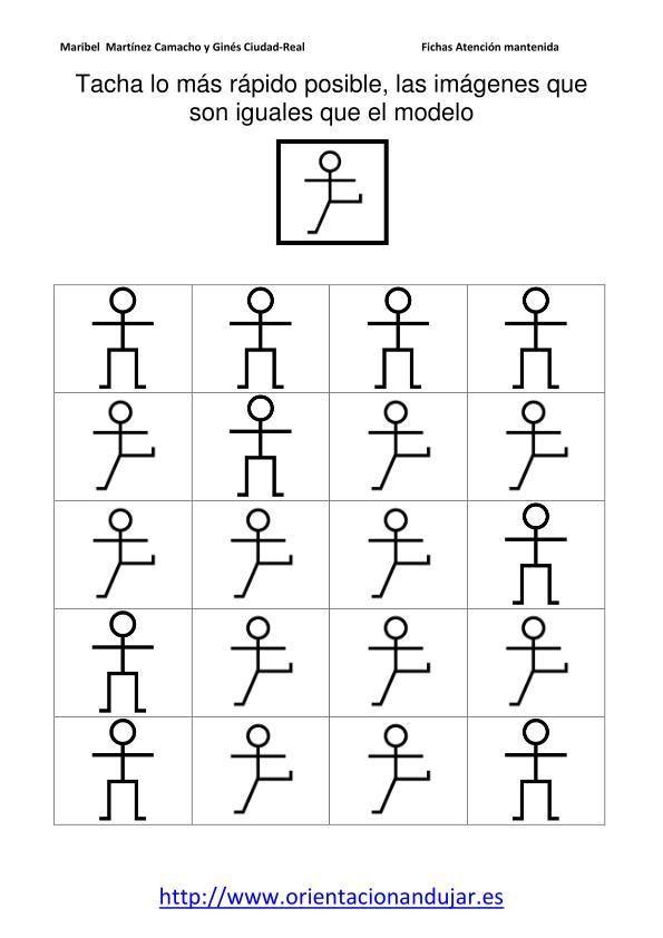 TACHAR IGUALES AL MODELO nivel inicial fichas 1-20_03.doc