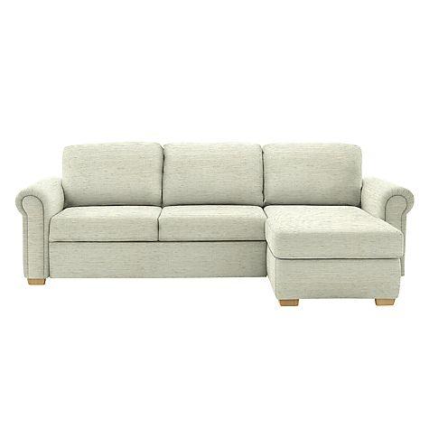 Buy John Lewis Sacha Large Scroll Arm Storage Sofa Bed Online at johnlewis.com