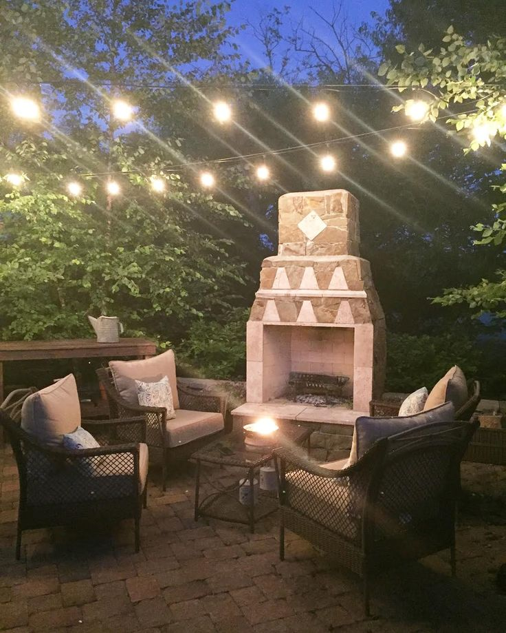 How to string outdoor lights over a patio or deck. Tips on the best outdoor lights to use.
