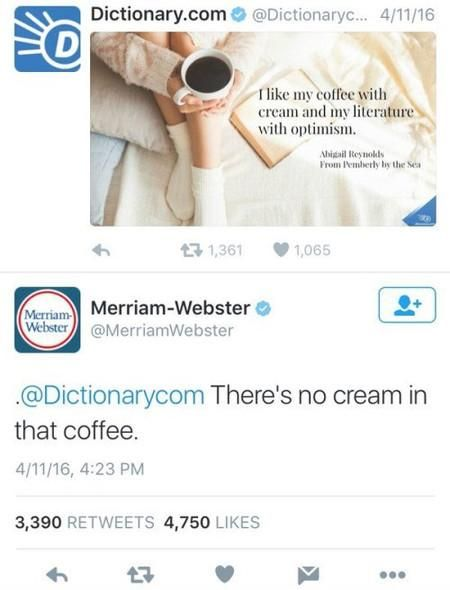 Merriam-Webster has some sass!