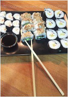 """""""Cocina con Cookeo"""": Maki&California Maki"""