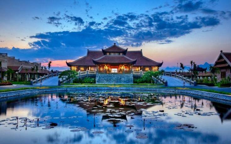 Resort de 5 estrellas con ambiente asiático