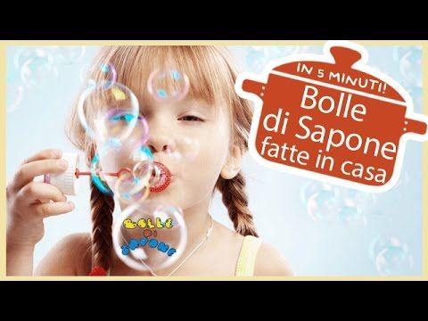 Bolle di Sapone fatte in casa in 5 minuti - Le Ricette dell'Amore Vero