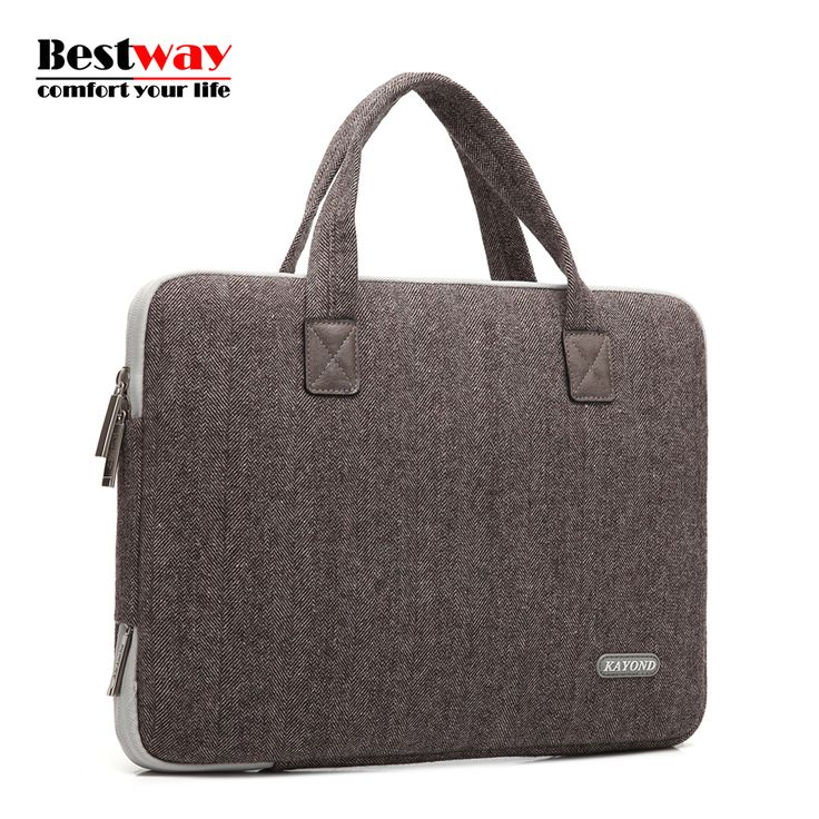 KAYOND Bolsa Masculina Laptop Brifcase Bag Men 13 14 15 Inch For MacBook For Dell For Lenovo Laptop Sleeve Maleta De Ferramenta