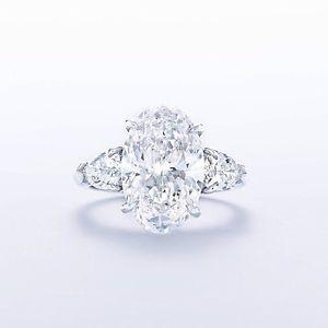 1.69 CARAT I VS2 GIA CERTIFIED OVAL CUT DIAMOND ENGAGEMENT RING SET IN PLAT 950  | eBay