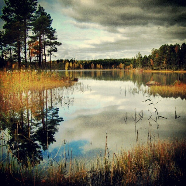 Matildanjärvi - Lake Matilda in Salo, Finland