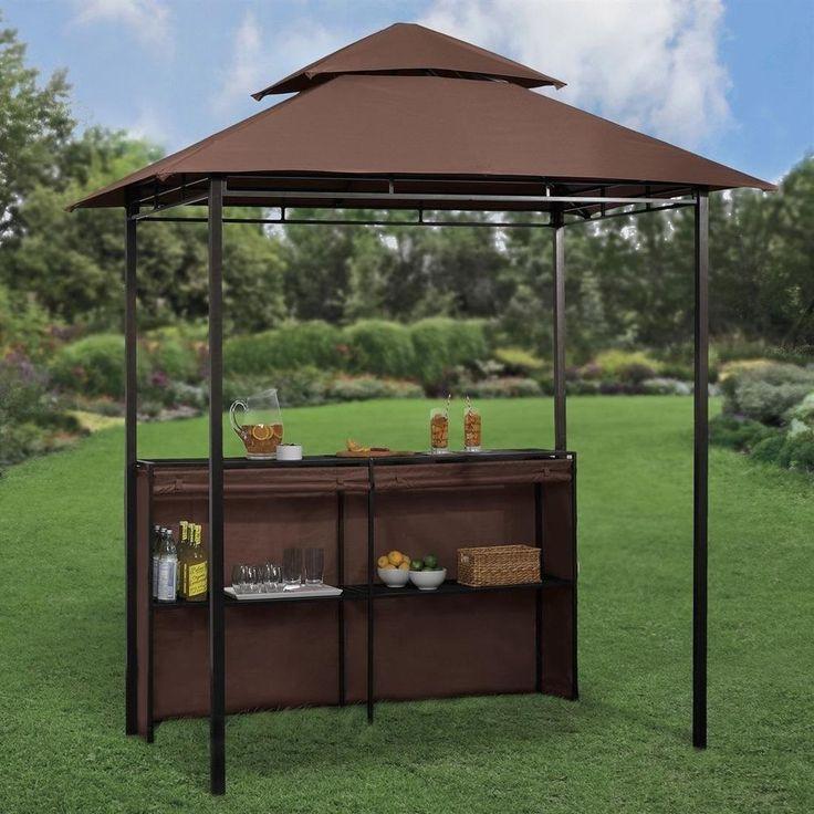 Bar Patio Gazebo Outdoor Poolside Deck Home Living Yard Furniture Canopy Cover Barzebo