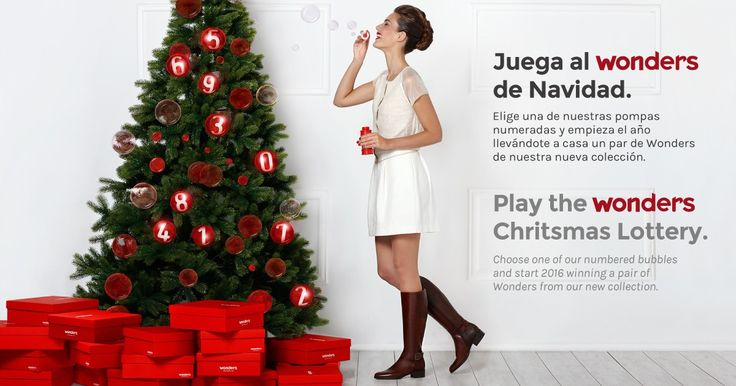 Juega al Wonders de Navidad. Play the Wonders Christmas Lottery.