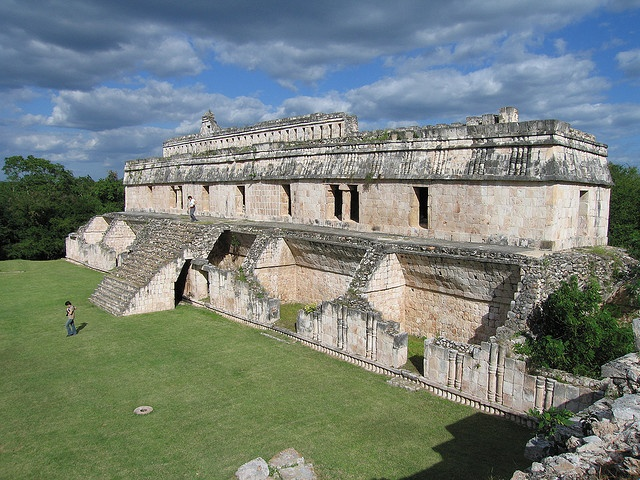 Maya Structure at Kabah, Yucatan, Mexico