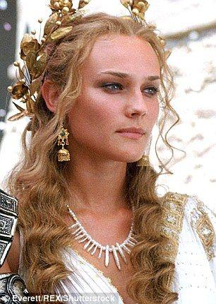 Diane Kruger - Helen of Troy - Grecian princess