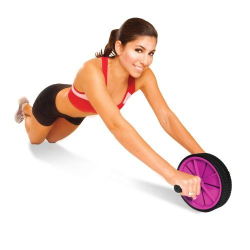 The Tone Fitness Ab Toning Wheel is a simple to use exercise equipment that will help you gaining strength to your core and strengthen your abdominal muscles.