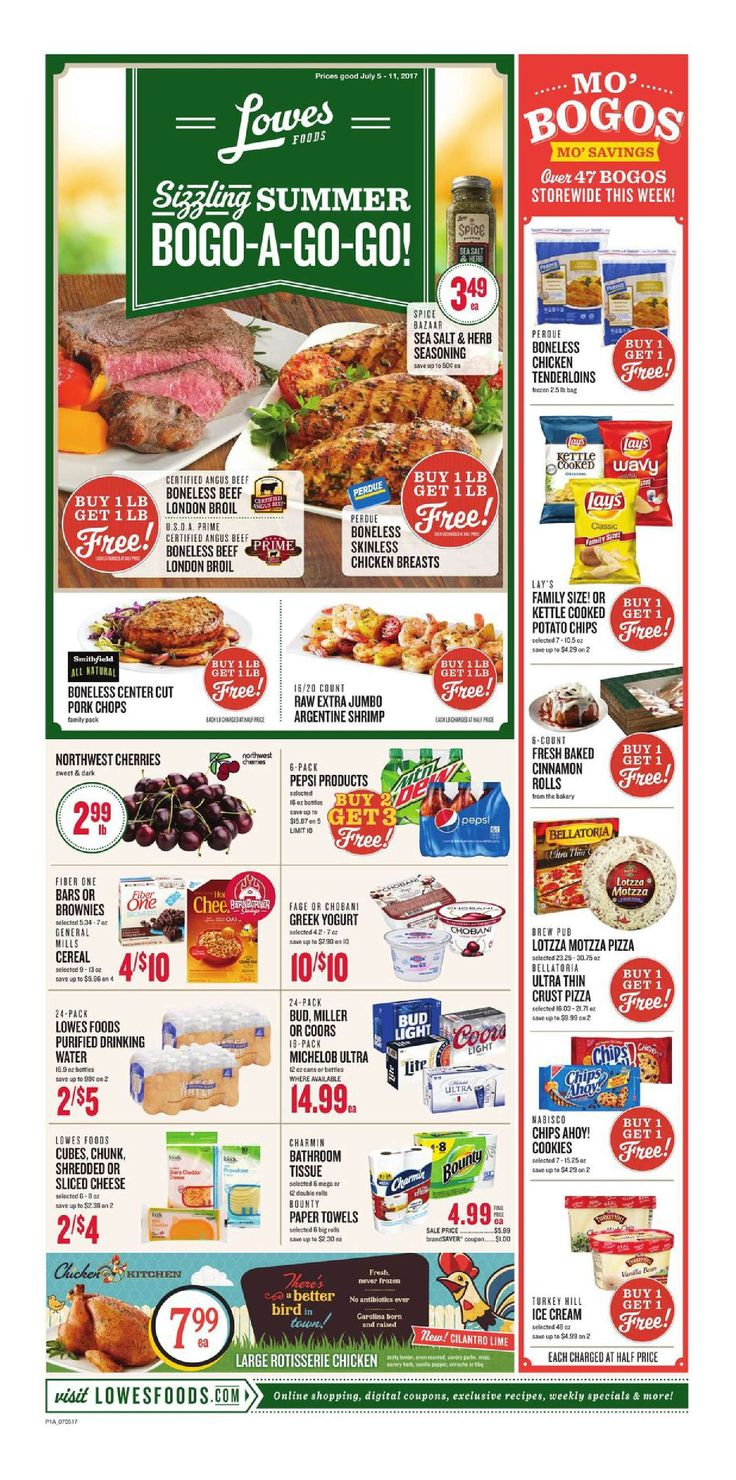 Lowes Weekly Ad July 5 - 11, 2017 - http://www.olcatalog.com/grocery/lowes-weekly-ad-circular.html