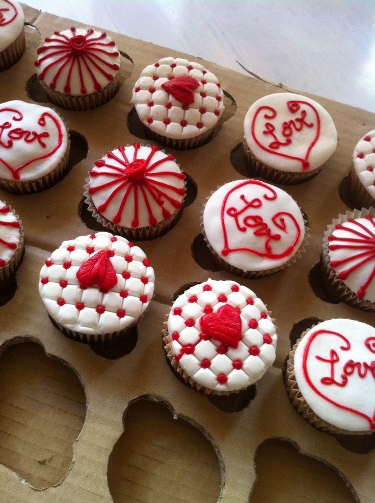 17 best ideas about cupcakes san valentin on pinterest galletas de san valent n golosinas de - Ideas para sanvalentin ...