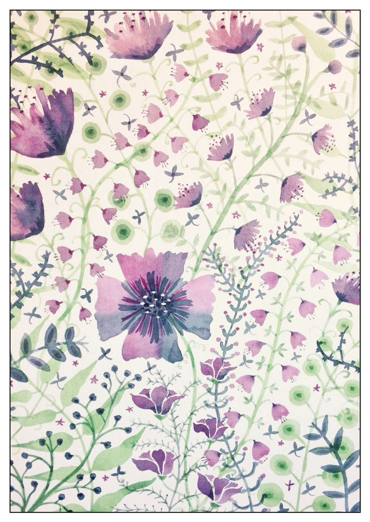 Purple meadow Rachael Dunn