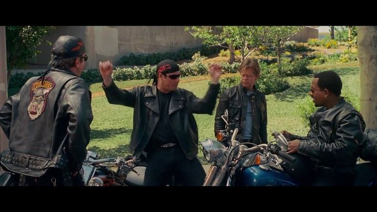 Wild Hogs 2007 English Movie -  Tim Allen, Martin Lawrence, John Travolt...