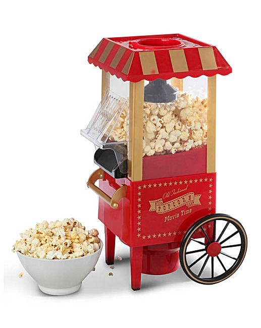 Elgento Popcorn Cart | J D Williams