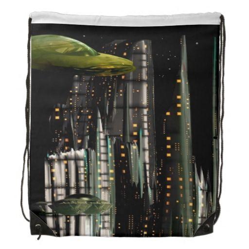 TechnoCity cinch bag