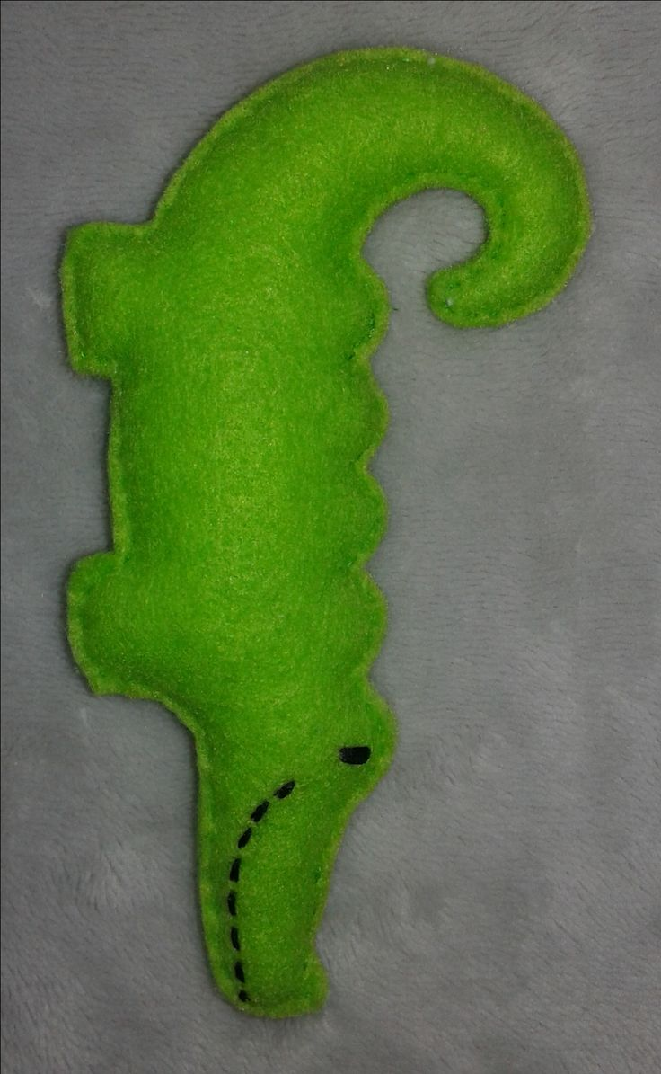 Krokodyl filc
