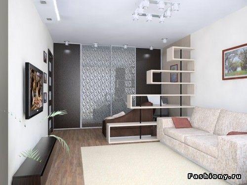 Однокомнатные квартиры с умом 2 / интерьеры однокомнатной ...