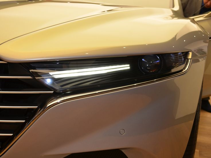Aston Martin Lagonda Taraf: Scheinwerfer