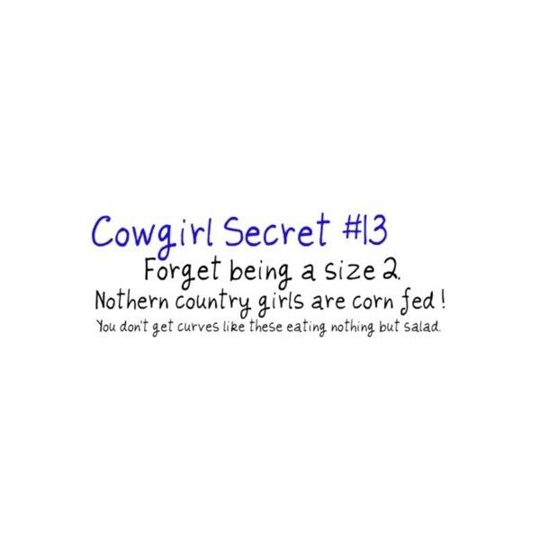 Cowgirl Secrets found on Polyvore