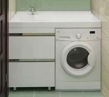 умывальник и стиральная машина под одной столешницей фото: 12 тыс изображений найдено в Яндекс.Картинках
